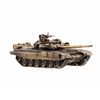 "The model of the tank ""T-90"" in 1:72"