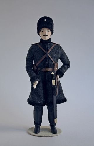 Doll gift. The chief officer of the steppe Cossack teams. 1909-till 1914.