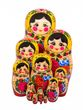 Matryoshka doll traditional dolls 12 - view 2