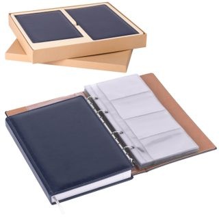 Set GALANT Voyage (diary A5 business card holder for 240 cards), dark blue