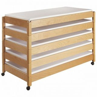 Rollaway bed for 5 persons for kindergarten