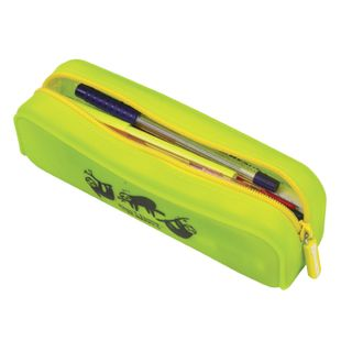 Pencil case-cosmetic bag BRAUBERG, silicone,