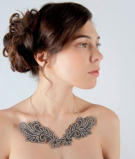 Angel Wings Lace Necklace, Madame Cruje