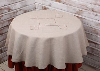 Tablecloth round pattern 22 / 45-18