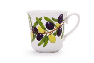 Dulevo porcelain / Mug 250 ml Dawn Olives