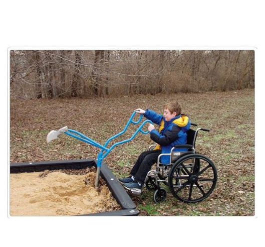 Hercules / Sand excavator, special wheelchair for children