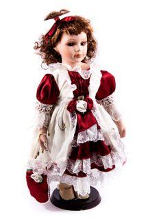 "Porcelain doll ""Sonia"""