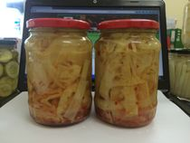 Pickled bamboo shoot