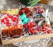 Large set of handmade soap Gift sweet tooth