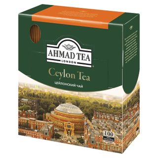 AHMAD / Ceylon Tea, black, 100 sachets with 2 g tags