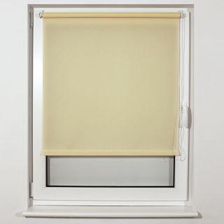 BRABIX 120x175 cm roll curtain, texture - lynn, protection 55-85%, 200 g/m2, creamy