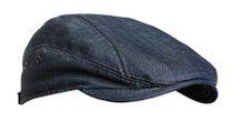 Men's summer hat made of denim fabric
