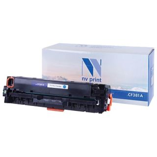 Toner Cartridge NV PRINT (NV-CF381A) for HP LJ M476dn / M476dw / M476nw, cyan, yield 2700 pages