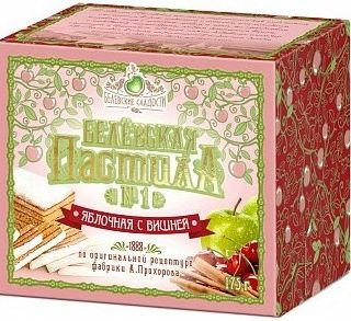 Belevskaya apple pastry with cherry, 175 g