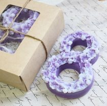 Handmade soap on 8 March lilac