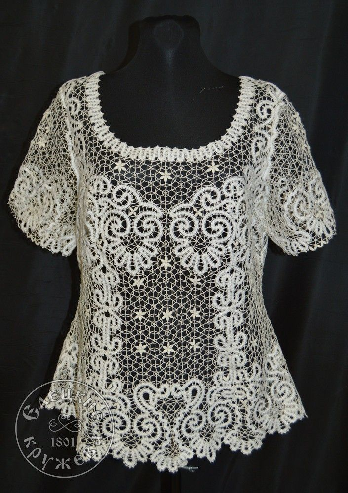 Yelets lace / Women's lace blouse С1766