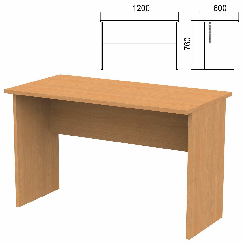 "Table written ""Argo,"" 1200 x600 x760 mm, pear aroso"