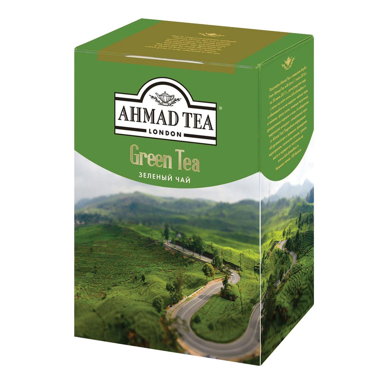 """AHMAD / Tea """"Green Tea"""" green leaf, cardboard box 200 g"""