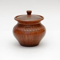 Clay dishes . Kazan №1