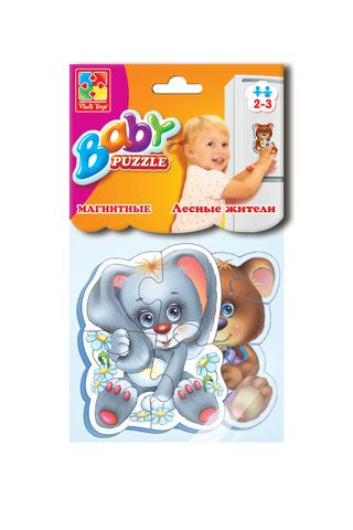 Soft magnetic Baby puzzle