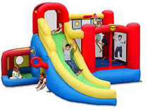 Children's inflatable trampoline 'Game Center 11 in 1'