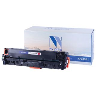 Magenta Toner Cartridge NV PRINT (NV-CF383A) for HP LJ M476dn / M476dw / M476nw, yield 2700 pages