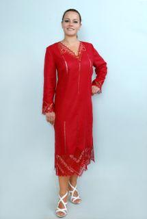 Dress womens linen 9-107