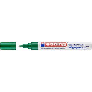 Edding / Marker varnish glossy, round nib, 2-4 mm Green