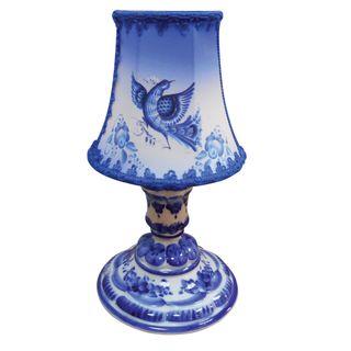 Lamp baby lamp shade Gzhel, Gzhel Porcelain factory