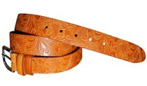Ladies belts with flowers