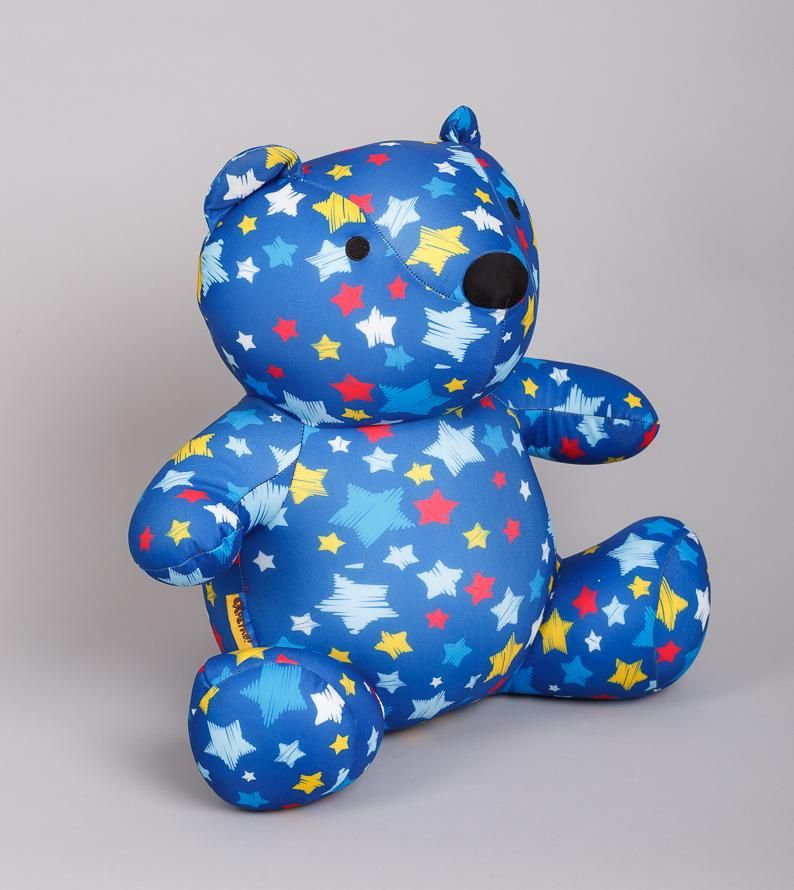 "Soft toy anti-stress ""Bear Stargazer"""