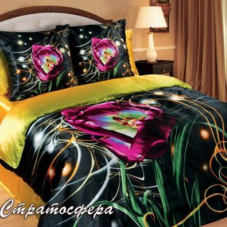 Satin bed linen 3D Galaxy stratosphere