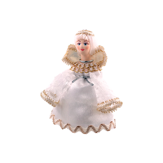 Christmas toy porcelain Angel 10 cm