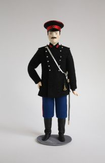 Doll gift. Chief officer (captain) in the Amur-Ussuri flotilla 1902-14gg. Russia.