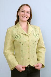 Jacket womens linen 9-68