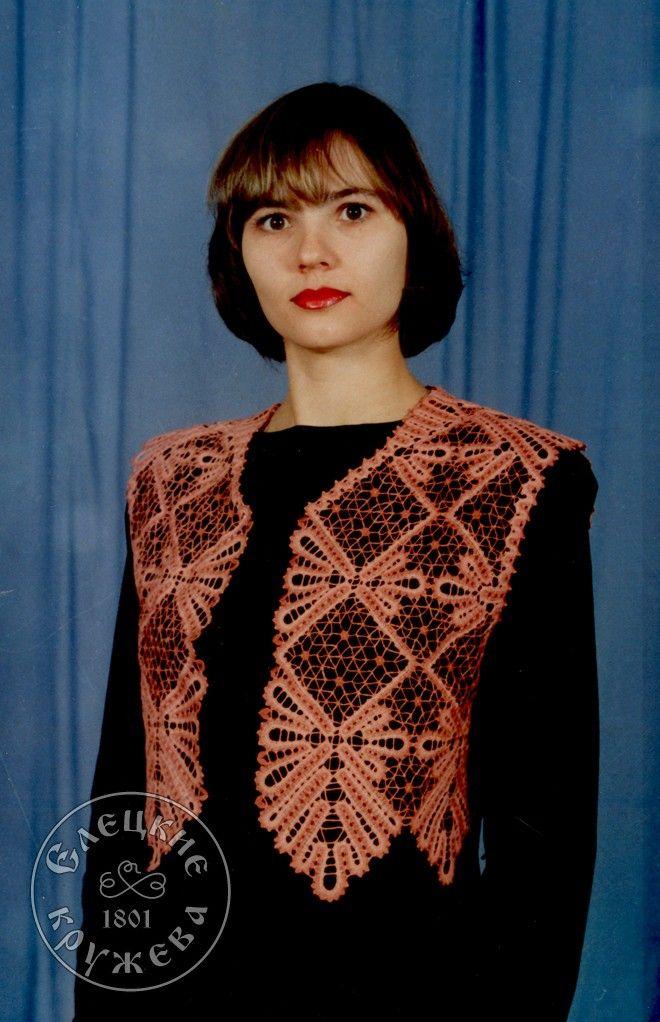 Yelets lace / Women's lace vest С646