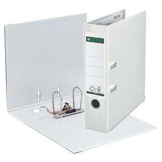 Folder-Registrar LEITZ, the mechanism 180°, coating plastic, 80 mm, white