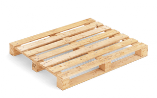 Pallet wood FIN M 120x100