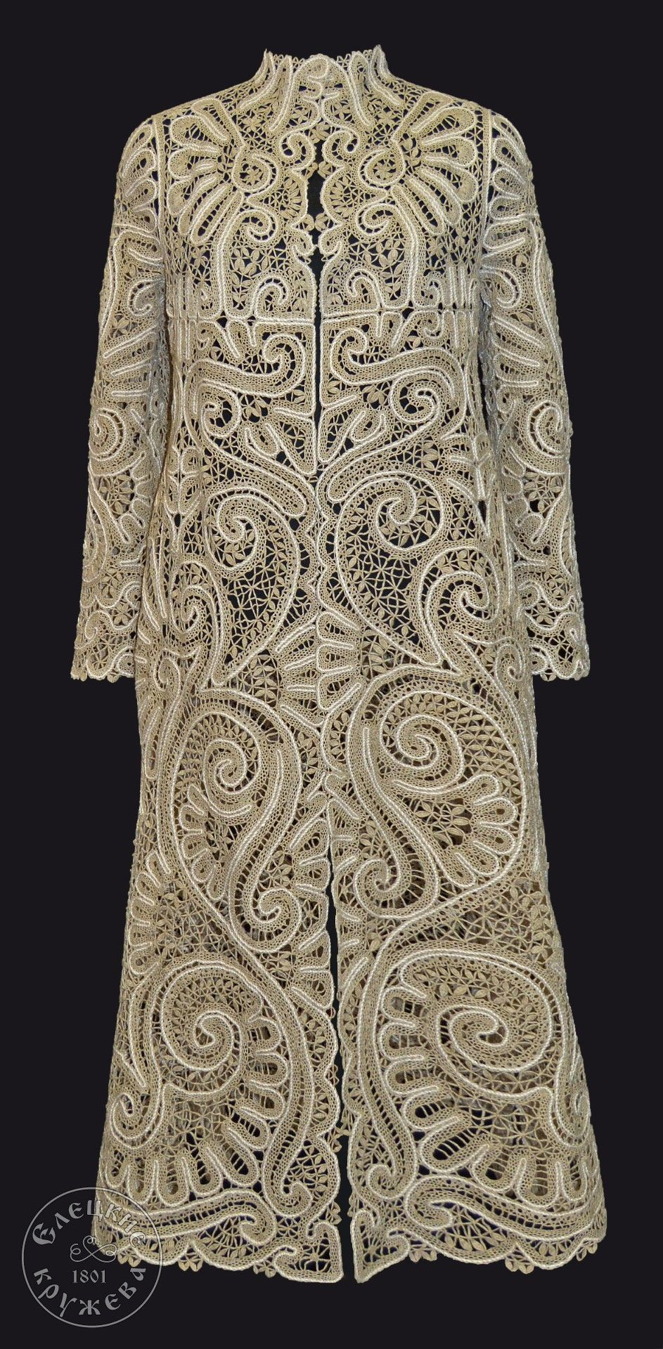 Yelets lace / Women's lace coat C716
