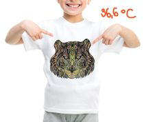 Children's t-shirt with special effects TIGER