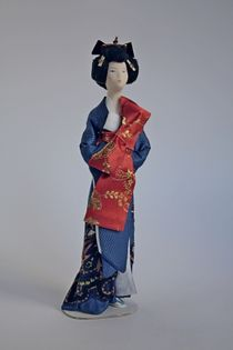 Doll gift. Geisha. Japan
