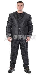 Undercoat coat, insulated, black