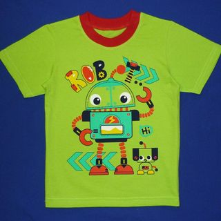 "T-shirt kulirka with print ""Robot"""