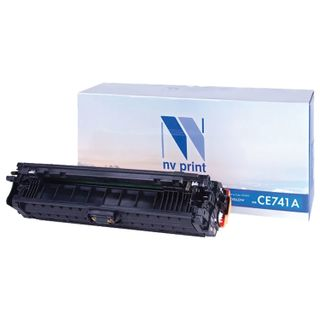 Cyan Laser Cartridge NV PRINT (NV-CE741A) for HP CP5220 / CP5225 / CP5225dn / CP5225n, yield 7300 pages