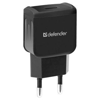 DEFENDER / AC charger (220 V) EPA-02, 1 USB port, output current 1 A, black