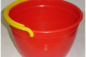 Plastic bucket, 5 l