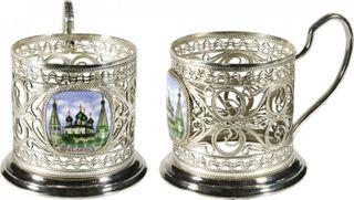 "Rostov enamel / Cup holder ""Tradition"""