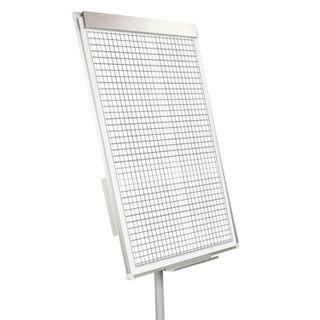 Notebooks for flipchart BRAUBERG, SET of 5 pieces, 20 sheets, cell, 67,5х98 cm, 80 g/m2