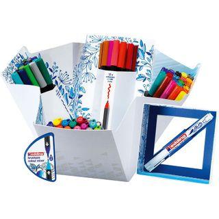 Edding / Set Сolor Happy, 69 items + Mixer of colors Brushpen Color Mixer Assorted