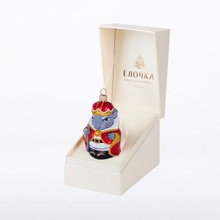 """Christmas toy """"Mouse King"""" in gift box"""